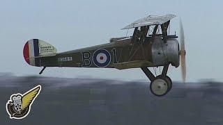 WW1 Fokker Monoplane vs Sopwith Biplane