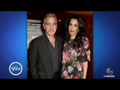 George And Amal Clooney Expecting Twins | The View