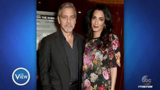 George And Amal Clooney Expecting Twins | The...