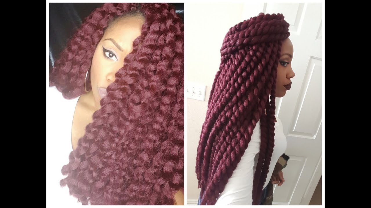 Crochet Senegalese Twist : Crochet Senegalese Twist(Unravel/Final Review/Takedown) - YouTube