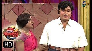 BulletBhaskarSunamiSudhakarPerformance | Jabardasth | 12th October 2017| ETV  Telugu