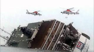 韓国でフェリーが沈没 300人弱がいまだ安否不明 thumbnail