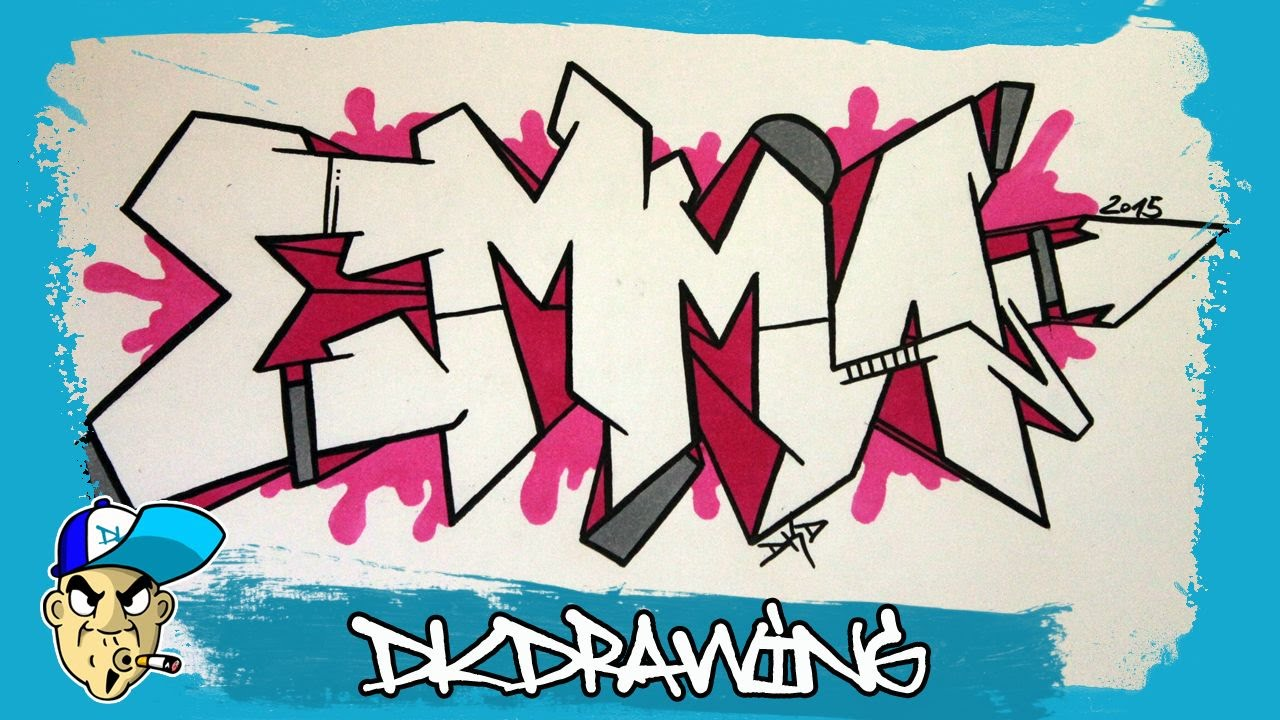 Drawings of graffiti names images for How to doodle names