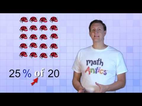 Math Antics - Finding A Percent Of A Number