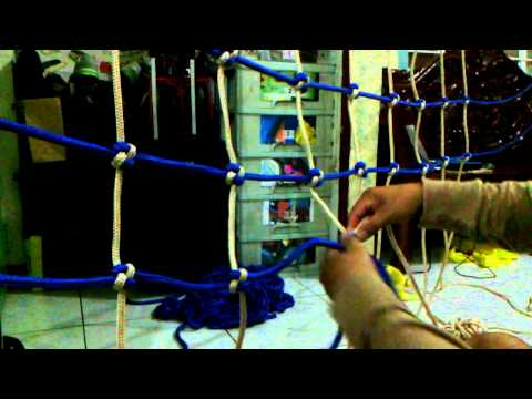 Want To Learn my DIY-CARGO NET MAKING?