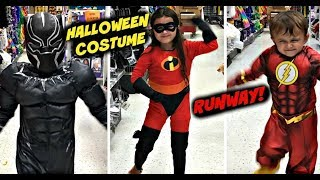 Video Halloween Costume Runway! Party City Vlog! What should we be? Incredibles 2 Black Panther download MP3, 3GP, MP4, WEBM, AVI, FLV Agustus 2018