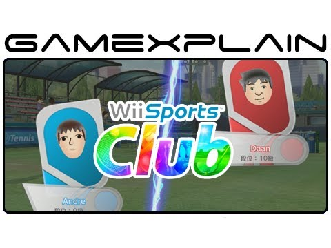 Wii Sports Club: Online Tennis - GX vs. NintenDaan Gameplay (Wii U Video Preview)