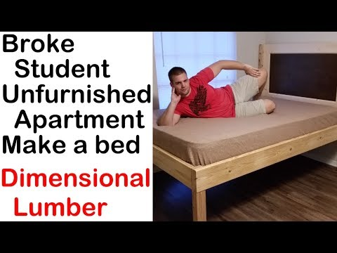 Building a Full XL bed from Matthias Wandel's bed plans