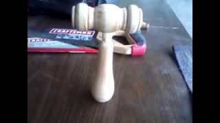 How To Make Auctioneer Or Judge Wooden Gavel From Reclaim Wood Broken Chair Part 3