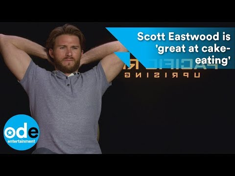 Pacific Rim: Scott Eastwood is 'great at cakeeating'