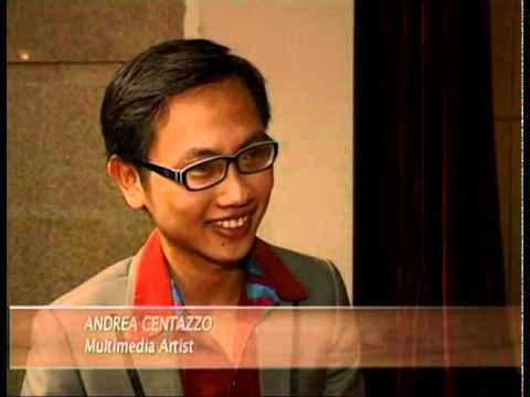 """ANDREA CENTAZZO INTERVIEW """"ON THE MIC""""  - VIETNAMESE TV IN ENGLISH"""