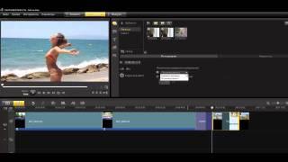 Corel VideoStudio X4. Урок 10. Панель параметров этапа правки