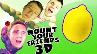 NIE MA GRAWITACJI, ALE SĄ WIELKIE CYTRYNY! | Mount Your Friends 3D [#6] (With: Plaga, Paveł)