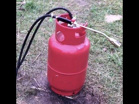 Газовая горелка. Собираем