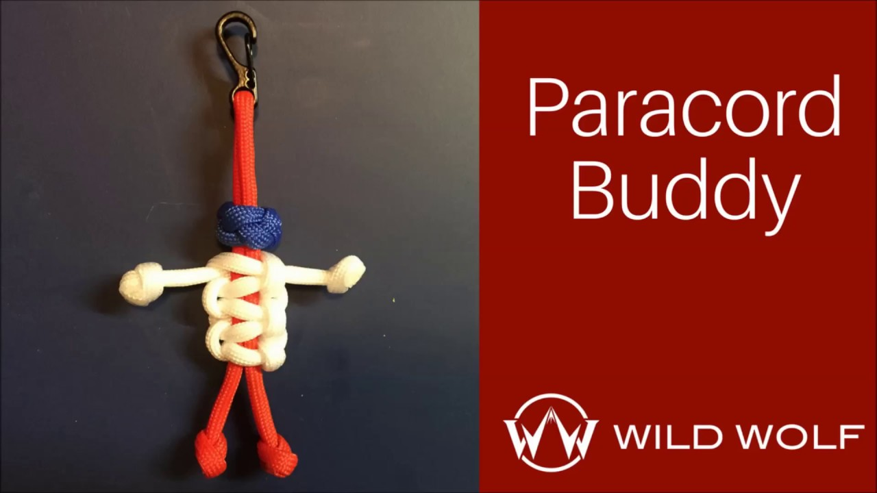 Paracord Buddy – Paracord Person – Cobra Weave and Ranger Bead