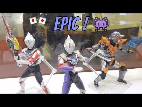 Ultraman Bandai Tamashii Nations  - Toys and Comic Fair