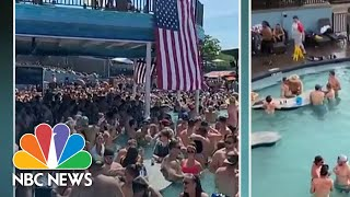 Attendee At Packed Memorial Day Gathering Tests Positive For Coronavirus | Nbc Nightly News