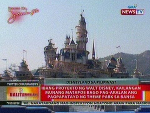 BT: Disneyland sa Pilipinas, posible nga ba?