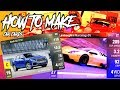 How To Make Custom Car Cards - Top Drives (Templates in the description)