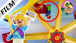 بلايموبيل فيلم  حادث في الكرنفال. جوليان كان هيقع من عربة الملاهى ! سلسلة للأطفال