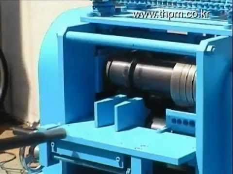 Stripping machine for electric wire(Wire stripper) TH-801 - YouTube