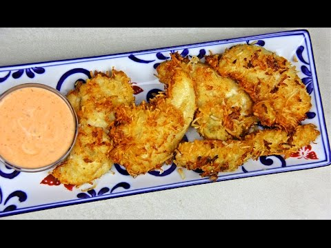 Coconut Chicken Tenders Super Bowl Food | CaribbeanPot com