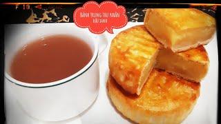 Bánh nướng trung thu nhân đậu xanh - Bí quyết làm bánh ngon - Món ngon mỗi ngày