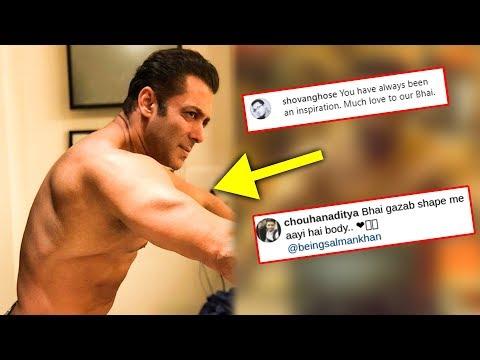 Salman Khan Shares New Shirtless Look | Dabangg 3 Workout | Fans REACT Mp3