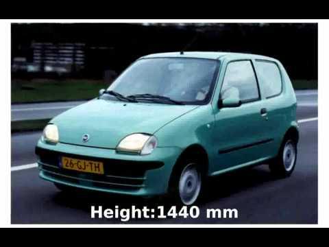 2003 Fiat Seicento 1.1 - Walkaround, Info