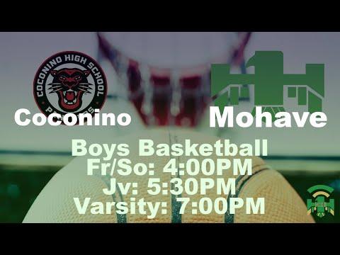 Coconino High School vs Mohave High School - FS/Jv/V Boys Basketball
