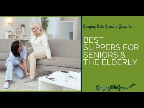 The Best Non-Slip Slippers for Seniors and the Elderly