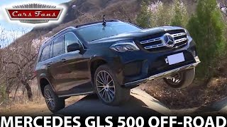 Mercedes GLS 500 off-road