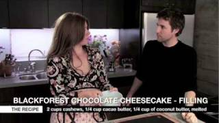 GreenChef Vanessa Sherwood | Blackforest Chocolate Cheesecake