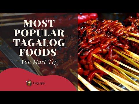20 Most Popular Tagalog Foods Ling App