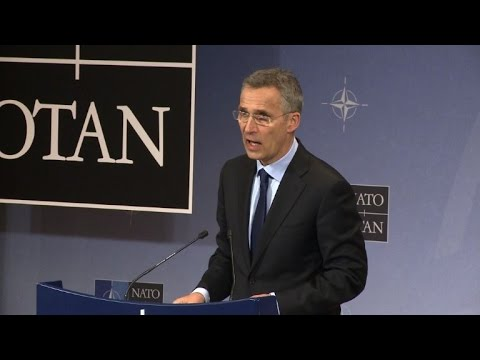 NATO chief says allies will not recognise Crimea annexation