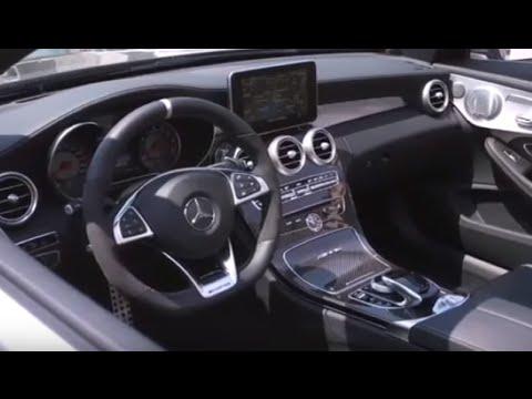 2017 Mercedes C63 S Amg Cabriolet Interior Youtube