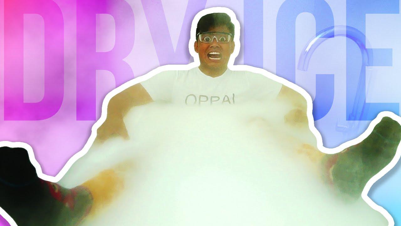 DRY ICE BATH CHALLENGE!