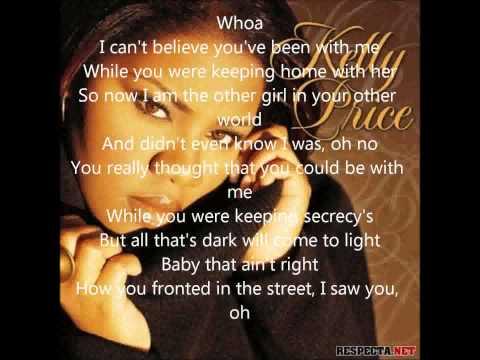 Kelly Price Married Man+Lyrics