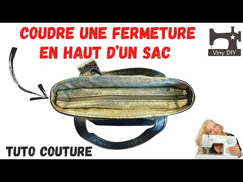 comment coudre une fermeture en haut d 39 un sac tuto couture diy youtube. Black Bedroom Furniture Sets. Home Design Ideas