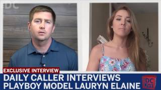 Daily Caller Interviews Playboy Model Lauryn Elaine