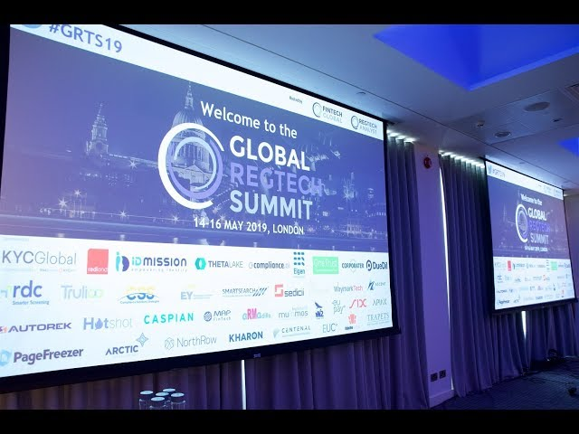 Global RegTech Summit 2019 - Highlights