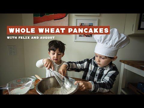 Whole Wheat Pancakes: Sauce Sandwich Kids