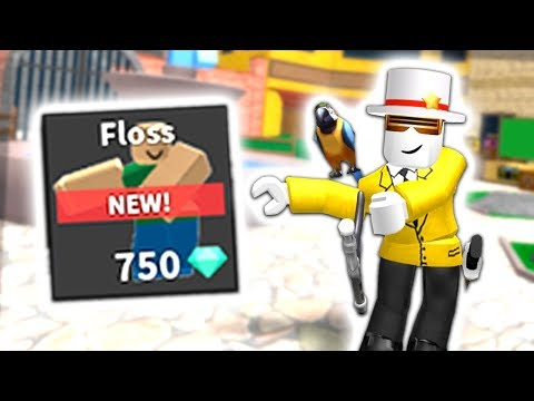 BUYING NEW FLOSS EMOTE IN MM2