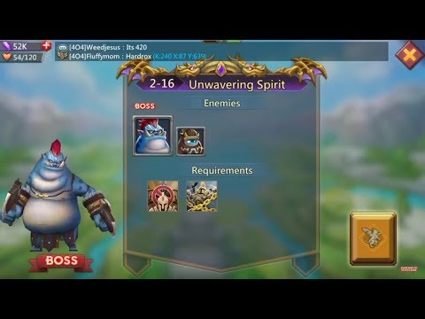 Lords Mobile Challenge 2-16
