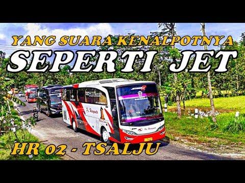 Bus HARYANTO yang Suara Kenalpotnya Kayak JET,,, HR02 Tsalju