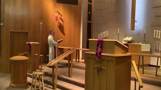Lent 1 Midweek, Good Shepherd Lutheran Church, LC-MS, Two Rivers, WI, Rev. William Kilps