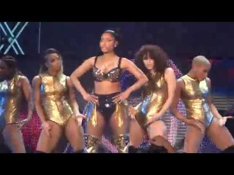 Nicki Minaj - Did It On Em & Beez in the Trap - live Manchester 4 april 2015