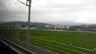 韓国 全羅線 南原-全州駅間 セマウル1120号 上り 走行1