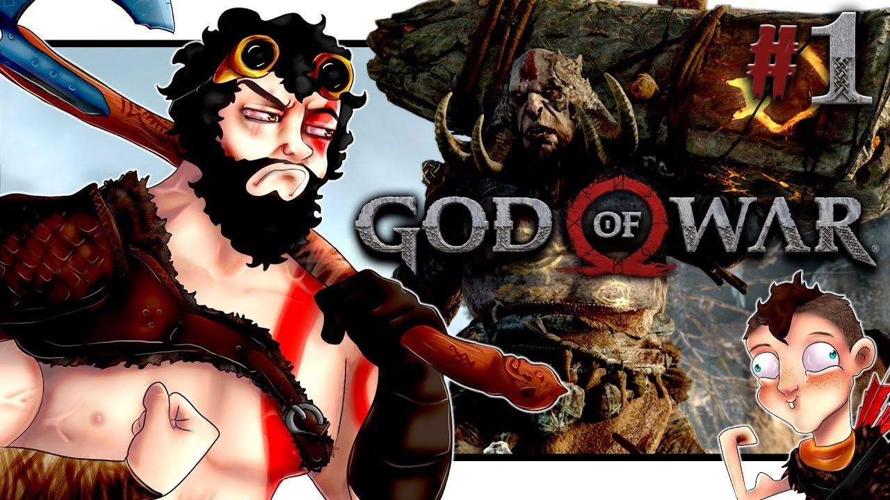 KRATOS & TIMMY VONT CHASSER ! ◤God Of War 4 | Let's Play FR #1◢