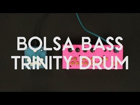 Bolsa Bass playing along with Trinity DRUM